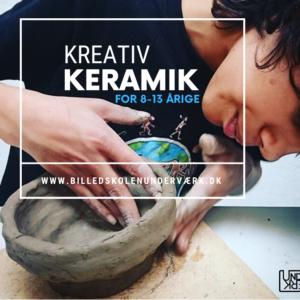 keramik børn billedkunst billedskole kreativ